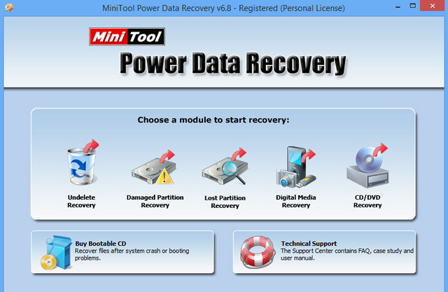 Phần mềm MiniTool Power Data Recovery