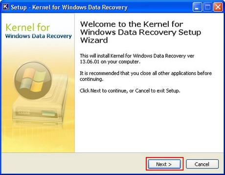 Phần mềm Kernel for Windows Data Recovery